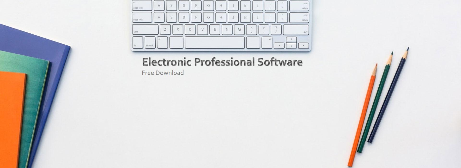 دانلود نرم افزارهای تخصصی رشته برق الکترونیک